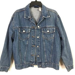 Vintage Jean Denim Jacket Size Medium